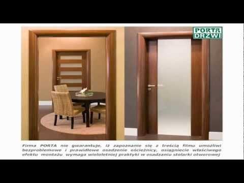 Poradnik Montaz Oscieznicy Regulowanej Prestige Porta Drzwi