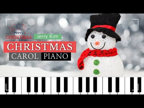 [2Hours] Christmas Carol Piano Compilation 잔잔한 크리스마스 캐롤 피아노 모음 Cover by Jerry Kim