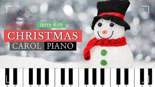 [2Hours] Christmas Carol Piano Compilation Calm Christmas Carol Piano Collection Cover by Jerry Kim