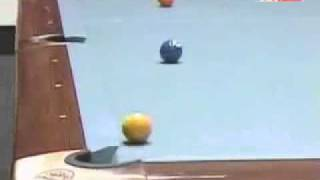 Greatest Pool Shot Ever.... Again by the Magician Efren Reyes!