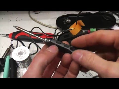 ts100 and other soldering irons for when you 39 re away from the bench youtube. Black Bedroom Furniture Sets. Home Design Ideas