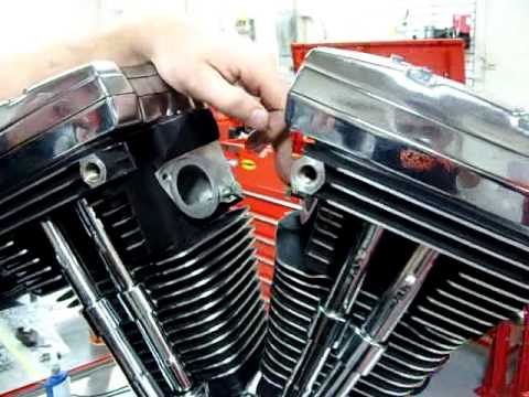 Part 11 How to install an intake manifold on Harley Davidson EVO SS