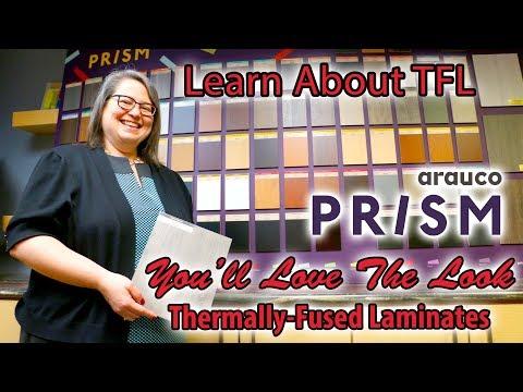 Arauco PRISM TFL Melamine Thermally Fused Laminate vs High Pressure Laminate