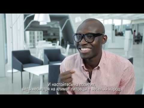 Olawale from Nigeria talks about studies in Lithuania