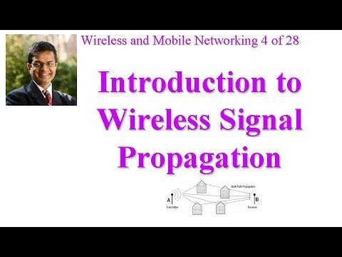 CSE 574-14-04: Introduction to Wireless Signal Propagation