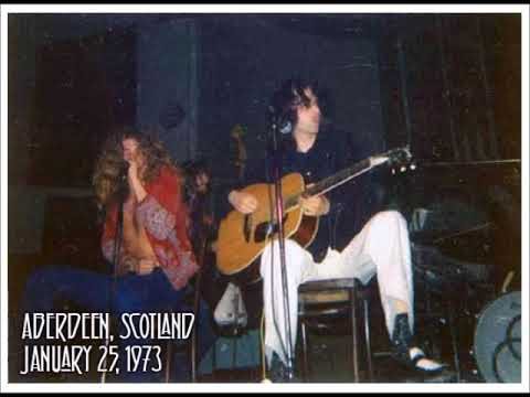 LED ZEPPELIN LIVE SCOTLAND 1973/01/25