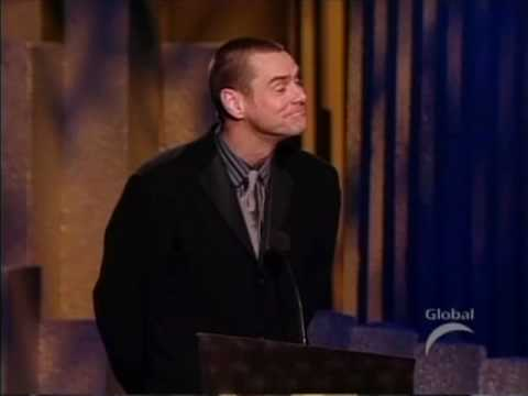 Thumbnail: Jim Carrey Accepting His Canada Walk Of fame Award 2004 Part 2