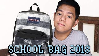 WHAT'S IN MY SCHOOL BAG 2K18 || Jayce Mars