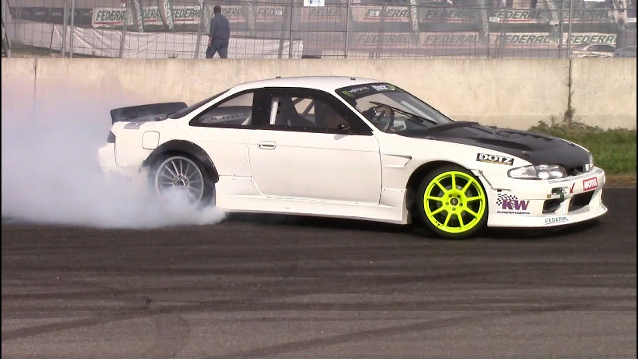 Loud Nissan Silvia Brill Steel Drift Car Youtube