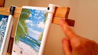 🎨HOW TO MAKE A MAHL STICK AND SUPPORT THAT SITS ON YOUR CANVAS
