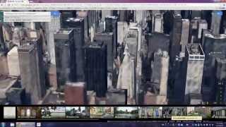 Google Earth on Chrome 041819 - 3D Manhattan buildings