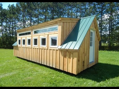"""the-smithhaven""---diy-convert-shed-into-tiny-house-with-electricity-&-8ft-walls---10x16-to-12x24"