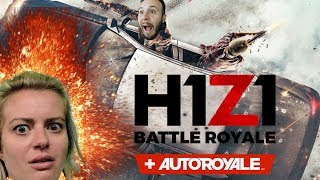 FORTNITE WITH CARS - H1Z1 Auto Royale Gameplay