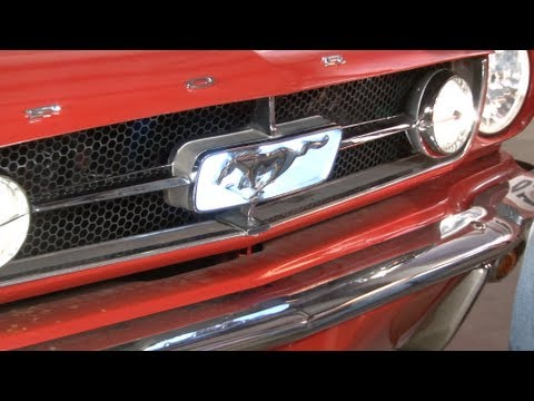 Mustang Scott Drake Grille Corral LED Light Kit 1965-1966 Installation