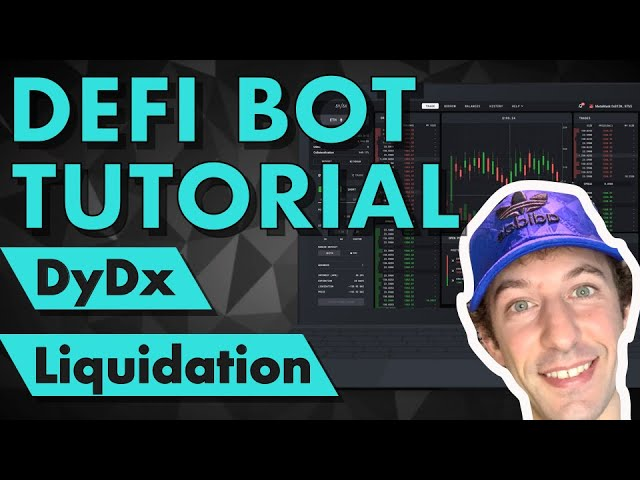 DeFi Bot Tutorial for DyDx liquidations