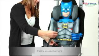 KidsEmbrace Group 2,3 Car Seat Fitting Video