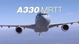 [Bemil 최신무기 동영상] 에어버스 밀리터리  A330 MRTT 공중급유 영상