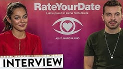 RATE YOUR DATE Interviews mit Nilam Farooq, Alicia von Rittberg, Edin Hasanovic & Marc Benjamin