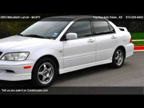 2003 Mitsubishi Lancer OZ Rally   For Sale In Shawnee, KS 66203