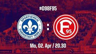 SV Darmstadt 98 - Fortuna Düsseldorf (1:0)|02.04.2018|DER TOBENDE BÖLLE LÄSST ES KRACHEN 💥💥💥🎆🎇