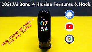 2021mi band 4 hidden features in Hindi |xiaomi mi band 4 Hack|Mi Band 4 mi band 5 watch faces band