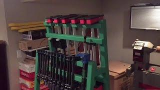(2) Mobile Clamp Rack