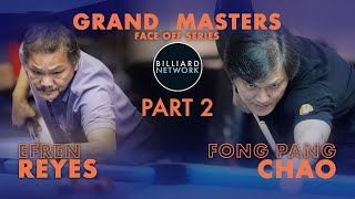 Download lagu EFREN REYES vs FONG PANG CHAO | Part 2 /  3 Race to 35  | GRAND MASTERS | 9 Ball - Race to 50.