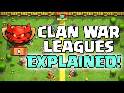 CLAN WAR LEAGUES EXPLAINED!!  UPDATE SNEAK PEEK #4 Halloween 2018 Clash of Clans