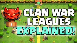 CLAN WAR LEAGUES EXPLAINED!!  UPDATE SNEAK PEEK #4 Halloween 2018 Clash of Clans