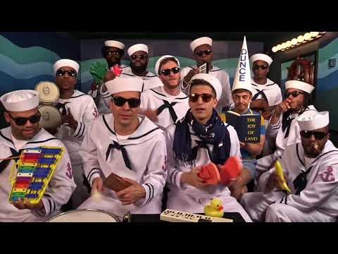 I'm On A Boat - Classroom Instruments w Jimmy Fallon & The Roots