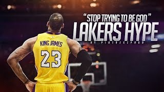 "LeBron James ft. Travis Scott - ""STOP TRYING TO BE GOD"" (Lakers HYPE) ᴴᴰ"