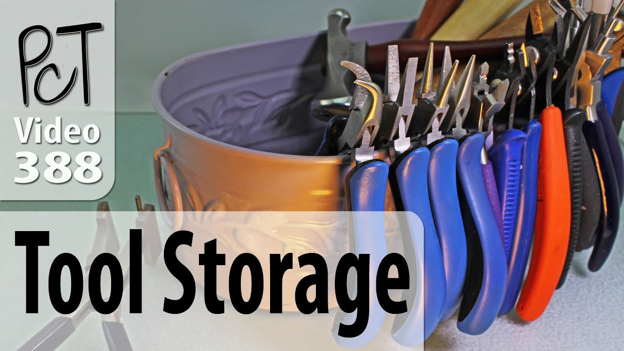 Jewelry Tool Storage Ideas From The Dollar Store Youtube