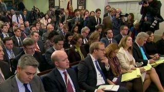 WH press secretary makes a plea for the media to be fair