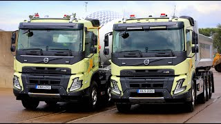 Volvo FMX 2021. First drive!