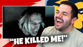 Reacting to the FUNNIEST Among Us moments...