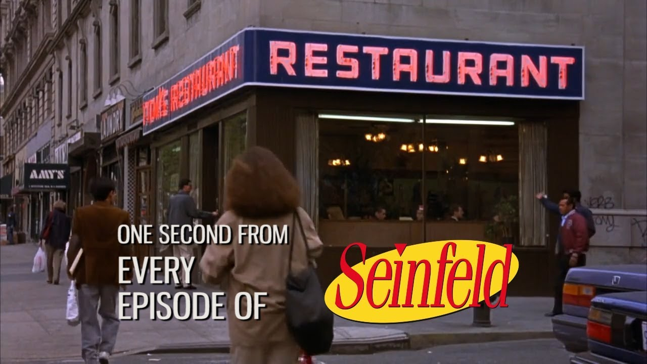 One Second From Every Episode of Seinfeld