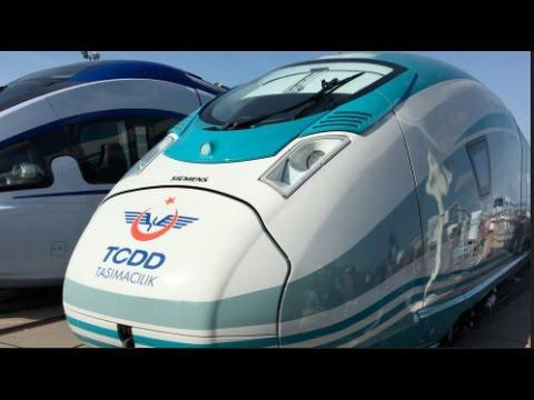 Velaro Turkey - High Speed Train for TCDD 2016 In detail review walkaround Exterior