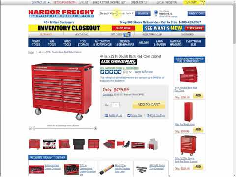 Harbor Freights 10 Most Wanted Coupons
