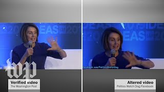 Pelosi videos manipulated to make her appear drunk are being shared on social media