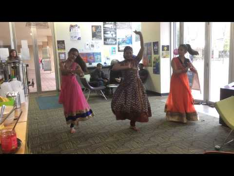 Semi classic Indian dance - Multicultural week UniSa 2015
