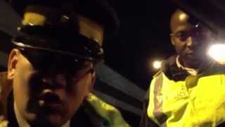 Vancouver Police / RCMP Harassment Roadblock Checkpoint