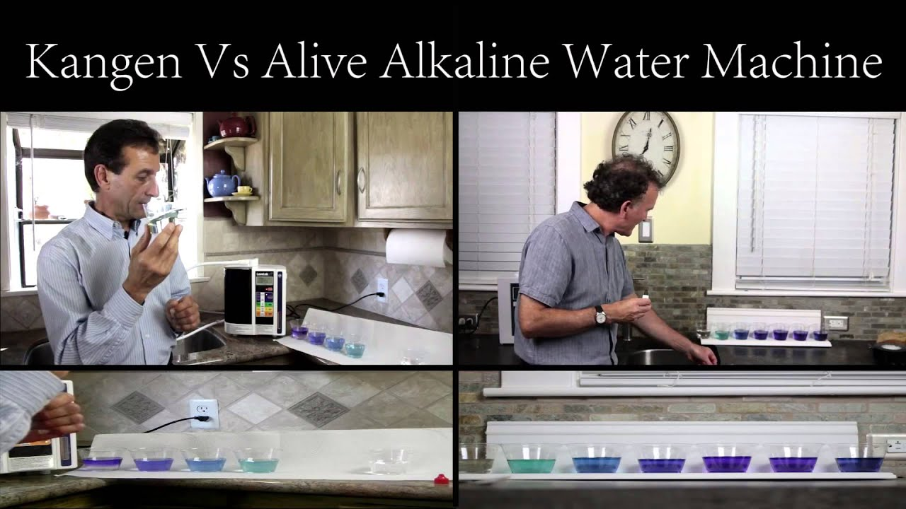 Which Alkaline Water Machine To Buy Alive Ionizer Vs
