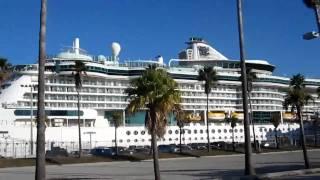 № 397 США Флорида Порт Tampa port cruise ship Америка