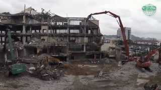 Central Geo - High Reach Demolition Project