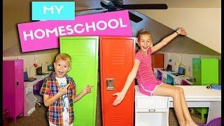 NEW HomeSchool Room REVEAL!!