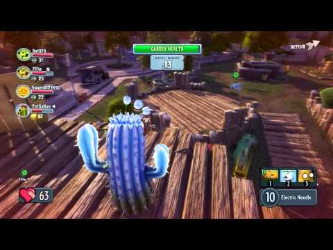 พาชม ระบบในเกมส์ Plants vs Zombies Garden Warfare BY:ทศกัณฐ์นะจ๊ะ