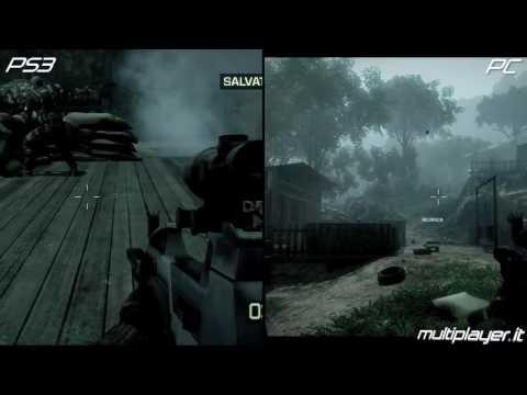 Battlefield Bad Company 2 - PC vs PlayStation 3 vs Xbox 360