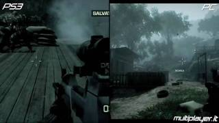Battlefield Bad Company 2 - PC vs PlayStation 3 vs Xbox 360
