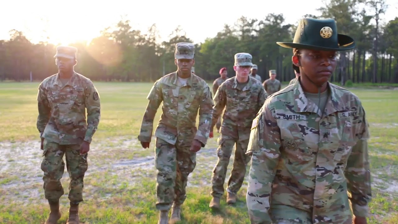 "U.S. Army Reserve Soldiers from across the 335th Signal Command (Theater) conduct a ""knockout drill"" as part of the 335th Signal Command (Theater) Best Warrior Competition at Fort Gordon, Georgia, April 18, 2019. The competition promotes esprit de corps and challenges noncommissioned officers and Soldiers who demonstrate commitment to the Army Values, embody the warrior ethos, and represent the best Soldiers in America's Army Reserve. The winning noncommissioned officer and junior enlisted Soldier will move on to compete in the U.S. Army Reserve Command competition in July. (U.S. Army Reserve photo by Staff Sgt. Leron Richards)