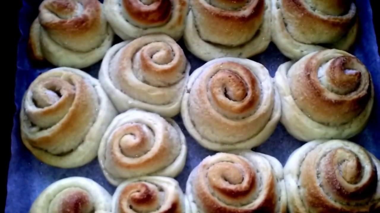 Как испечь булочки с сахаром